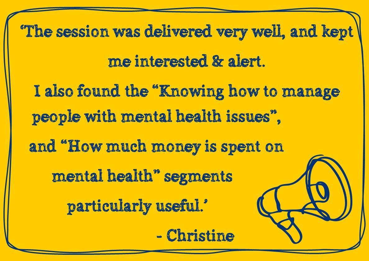 Christine Quote