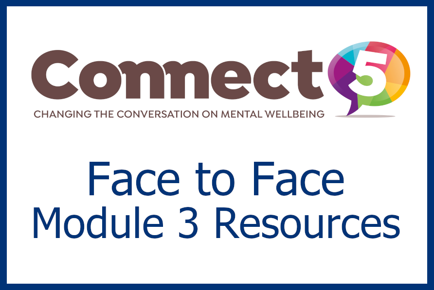 Connect 5 - Face to Face Module 3 Resources