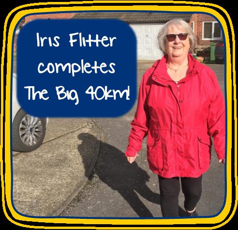 Iris Flitter completes The Big 40km!