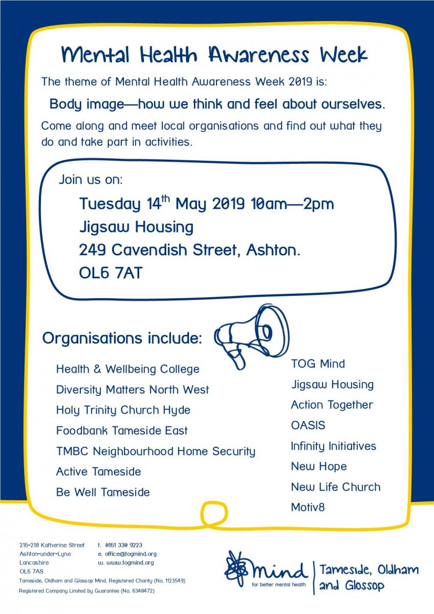 MHAW 2019 Event Poster