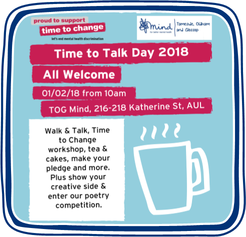 Time to Talk Day 2018