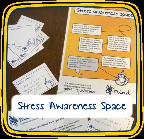 Mental Health Awareness Week - Stress Awareness Space