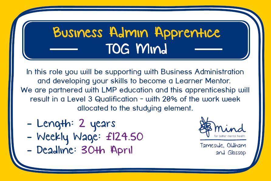 Business Admin Apprentice