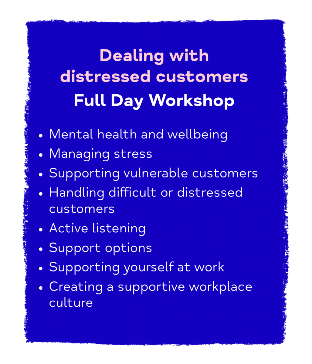 Dealing with Distress Customers Full Day Workshop