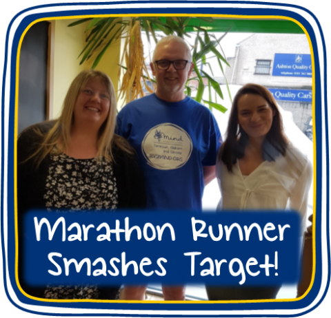 Marathon Runner Makes It Through The Heat and Smashes Fundraising Target!
