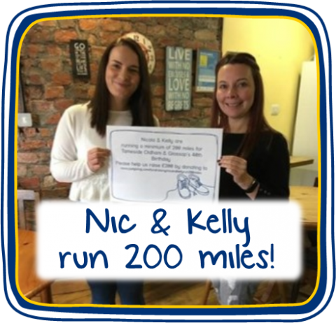 Nic & Kelly Complete 200 Miles!
