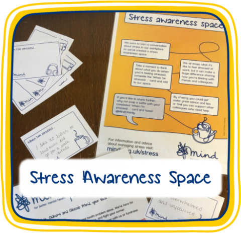 Mental Health Awareness Week - Stress Awareness Space
