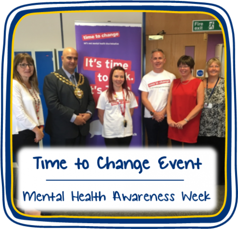 Time to Change Event, Oldham - Mental Health Awareness Week
