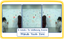 5 Weeks to Wellbeing Event at the Mahdlo Youth Zone in Oldham